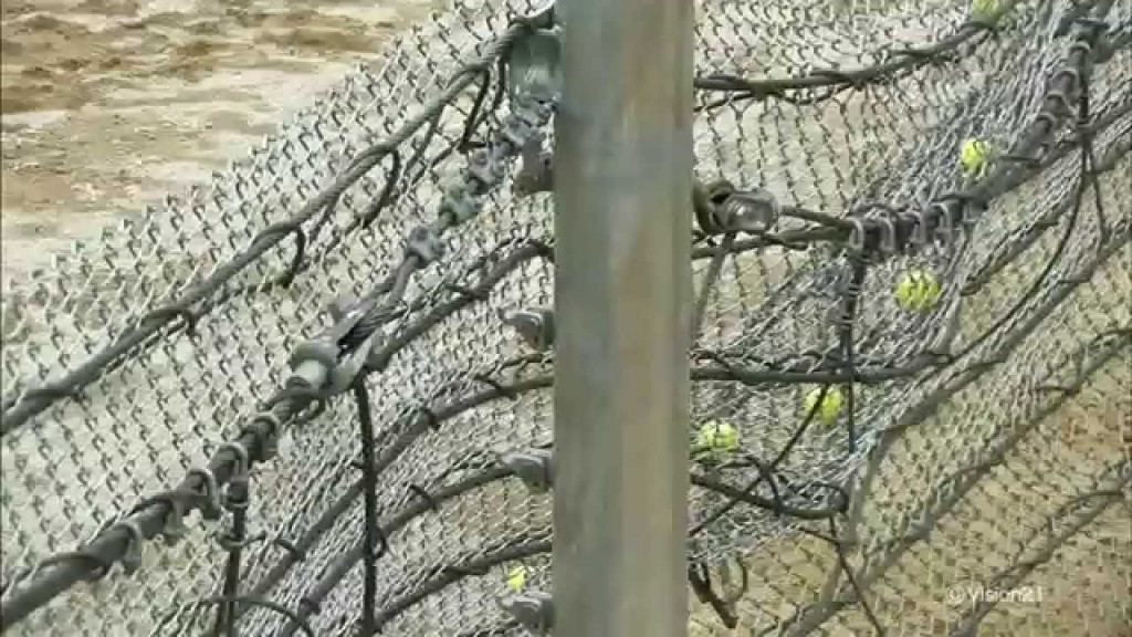 記録映像:防護柵